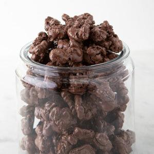 Chocolate Nut Meringues
