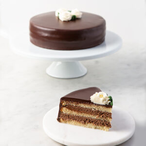 My Most Favorite Food Vanilla Cake w Choc Mousse