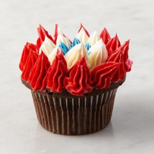 My Most Favorite Chocolate Starburst Design Cupcake