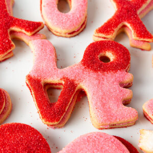 My Most Favorite Food 4Love, Hearts and XOXO Sugar Cookie Assortment