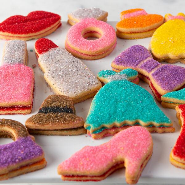 My Most Favorite Food Girl Sugar Cookie Assortment