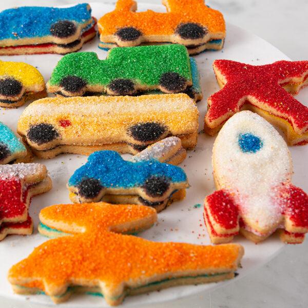 My Most Favorite Food Plains Trains Automobile Sugar Cookie Assortment