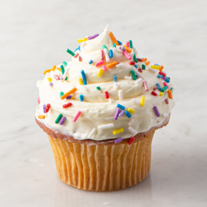 My Most Favorite Sprinkle Design Cupcake