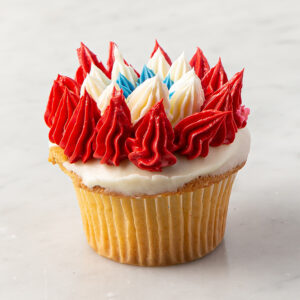 My Most Favorite Starburst Design Cupcake