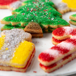 My Most Favorite Food Christmas Sugar Cookie Assortment