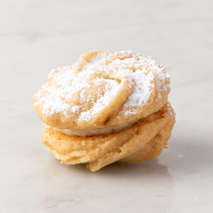 My most favorite Viennese orange with orange cream cookiei