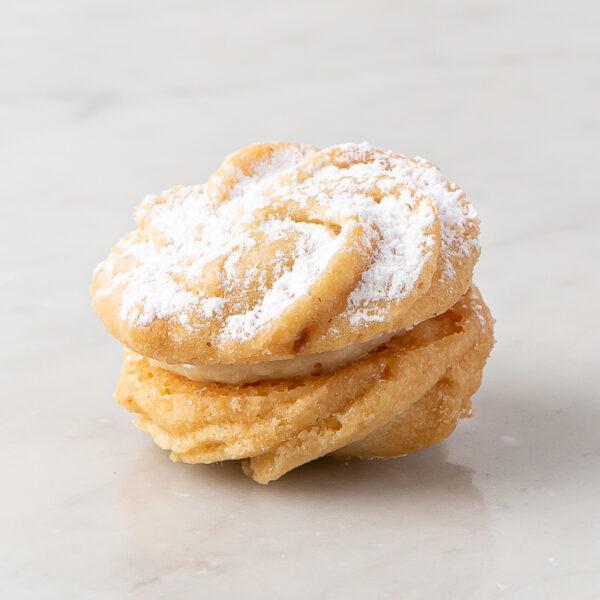 My most favorite Viennese orange with orange cream cookiei