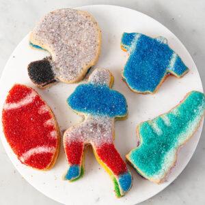 My Most Favorite Food Football Sugar Cookie Assortment3